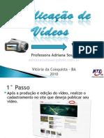Aprenda como publicar seu vídeo no Youtube!