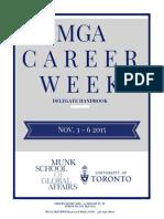 Career Week 2015 Delegate Handbook