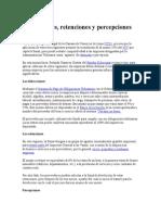 Detracciones y Percepciones Del Igv