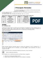Principais fórmulas do Excel