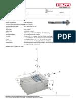 PES Hilti M10 HSA Report