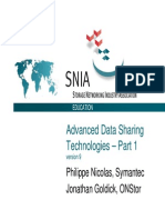 Advanced Data Sharing Technologies