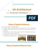 spanish achitecture