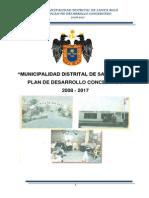 Santa Rosa Plan de Desarrollo Concertado 2008 2017