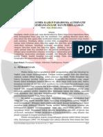 02 Paradigma Tauhid Kajian Paradigma Alternatif Dalam Pengembangan Ilmu Dan Pembelajaran - Aam