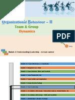 Module IV -Team Leadership