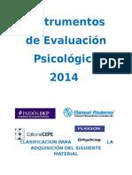 Catálogo Instrumentos de Evaluación Psicologica CLINICA Y EDUCATIVA 2014.docx