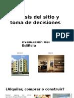 Análisis Del Sitio y Toma de Decisiones