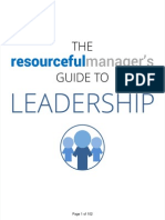 Resourceful Managers Leadership Guide