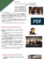 TÍTULO IV y IV Ministerio Público