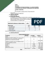 Perfil de Proyecto Residuos Solidos