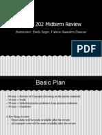 COMP 202 Midterm Review