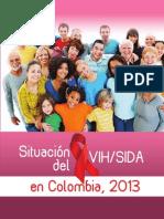 Situacion Del VIH-SIDA en Colombia 2013