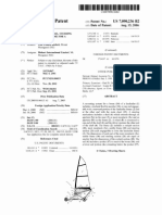 US Patent 7090236 Land Sailing