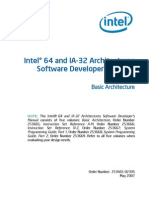 Intel Software Developer's Manual Vol1