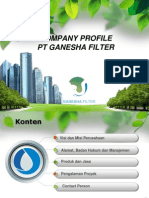 Company Profile PT Ganesha Filter