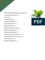 Batidos Verdes 10-Recetas