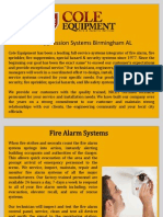 Fire Suppression Systems Birmingham AL