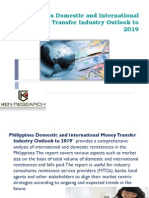 Philippines money transfer sector|Transaction volume remittance Philippines