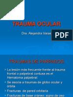 Trauma Ocular 2015