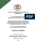 Construcción e Implementación Para El Proceso de Empacado de Baldosa Para La E.I.I. ESPOCH