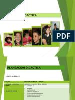 PLANEACION DIDACTICA 2015