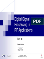 DSP in RF Applications