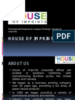 House of Imprints (Promotional Products & Custom Printing)
