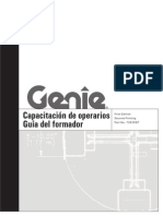 Guía de operario de manipulador telescópico GENIE