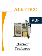 dossier technique palettic