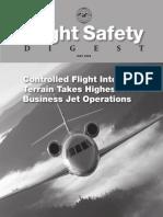 CFIT-Business Jet Operations