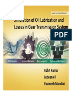 Tp Simulation Oil Lubrication Losses Gear Trans System