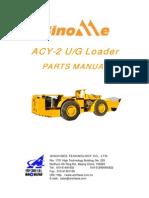 Scoop ACY-2H Parts Manual