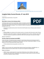 Insightsonindia.com-Insights Daily Current Events 27 July 2015