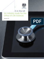 BIS 15 544 Digital Health in the Uk an Industry Study for the Office of Life Sciences