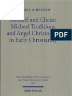 Darrell D. Hannah Michael and Christ Michael Traditions and Angel Christology in Early Christianity 1999.pdf