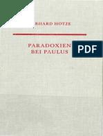 Gerhard Hotze Paradoxien bei Paulus. Untersuchungen zu einer elementaren Denkform in seiner Theologie Neutestamentliche Abhandlungen N.F. 33 1997.pdf
