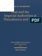 James R. Harrison Paul and the Imperial Authorities at Thessalonica & Rome. A Study in the Conflict of Ideology 2011.pdf