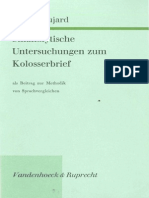 Walter Bujard Stilanalytische Untersuchungen zum Kolosserbrief als Beitrag zur Methodik von Sprachvergleichen 1973.pdf