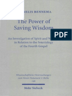 Cornelis Bennema The Power of Saving Wisdom An Investigation of Spirit & Wisdom in Relation to the Soteriology of the Fourth Gospel Wissenschaftliche Untersuchungen .pdf