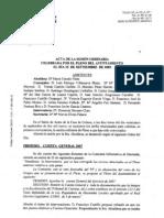 Borrador acta pleno Ayuntamiento Alpedrete 25-09-2009