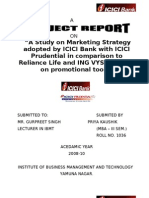 Icici Bank- project report