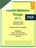 MIT Preventive Maintenance