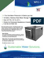 Gr8 Water Atmospheric Water Generator