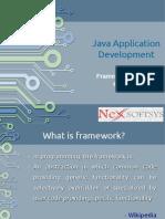 Choosing the best java application development framework
