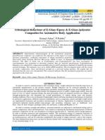 Tribological Behaviour of E-Glass /Epoxy & E-Glass /polyester Composites for Automotive Body Application