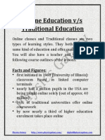 Online Education vs Traditional Education