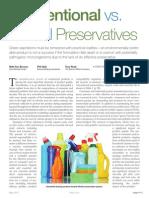 Biocides Preservatives Dow PH Range