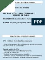 AULA08-3 Arquitetura Organizacao Computadores CC RESUMO