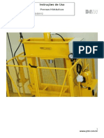 100.001-12 - Prensas Hidráulicas - Tipo H